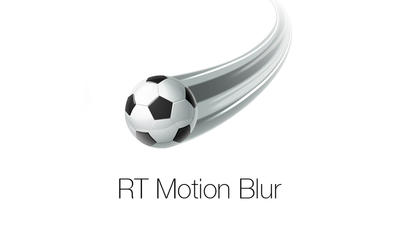 RT Motion Blur – Ripple Training
